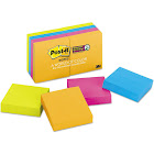 "Post it Super Sticky Note Pads, 2"" x 2"", 90 count - 8 pack"
