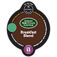 Green Mountain Breakfast Blend Keurig K-carafe coffee pods