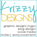 Krizzy Designs: Freelance designer, WordPress and Blogger designs, Graphic Design, Social Media, Invitations and more