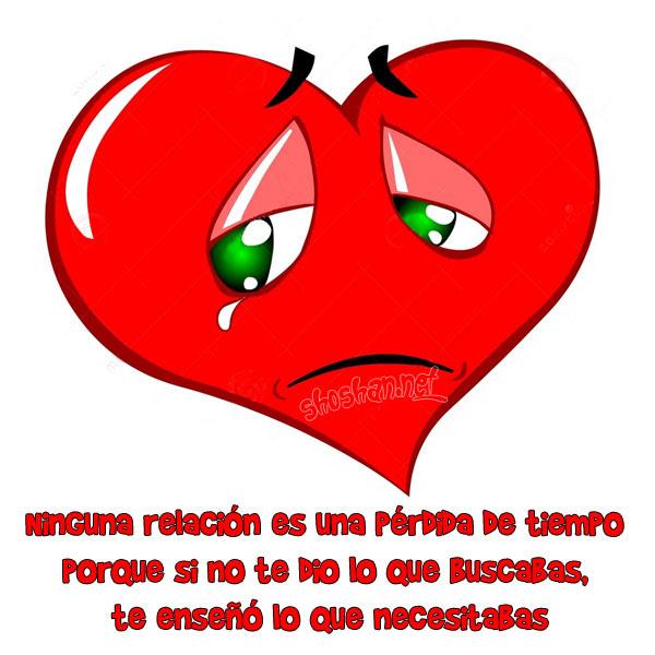 Imagenes Y Frases De Amor Ninguna Relacion Es Una Perdida De Tiempo