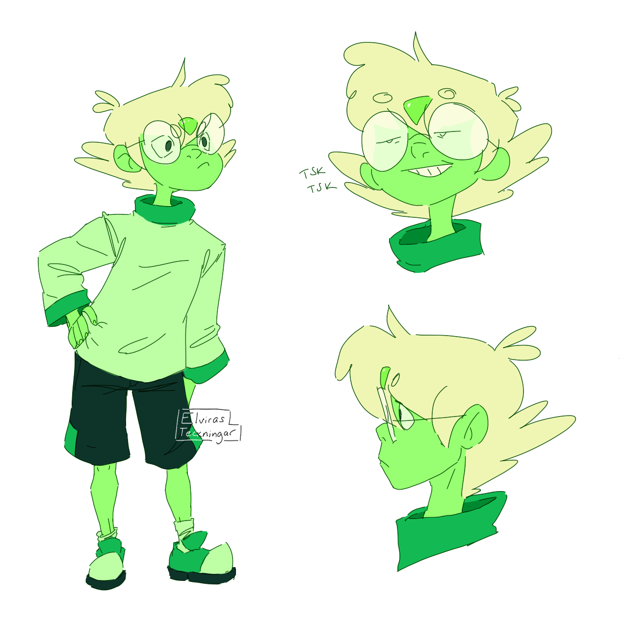 a quick Peri!Pidge redesign! I wanted Pidge's hair to be more stylized and I really like how it came out. Now it's actually fun to draw them