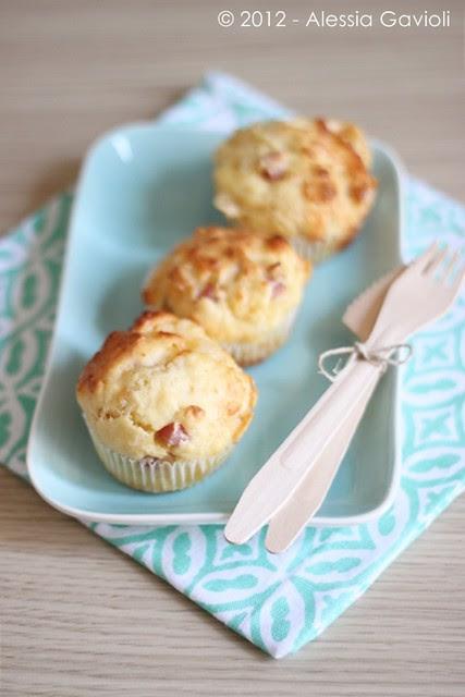 Muffin salati al latticello