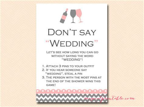 Wine Themed Bridal Shower Games   Magical Printable