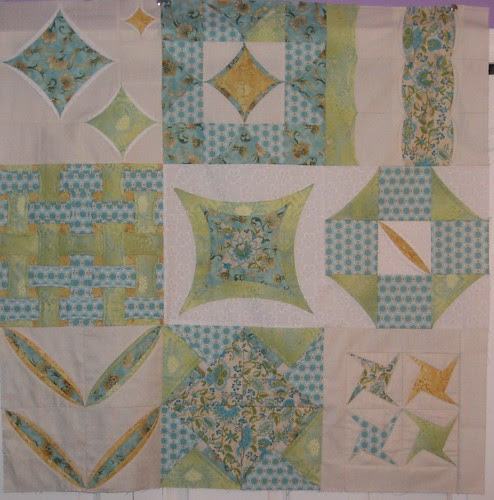 Cathedral Window Sampler Quilt