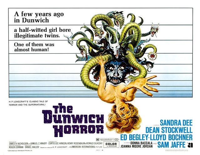 Reynold Brown - The Dunwich Horror (American International, 1970) half sheet