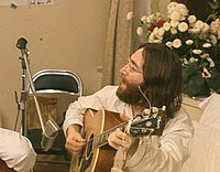 Lie In 15 -- John rehearses Give Peace A Chance.jpg