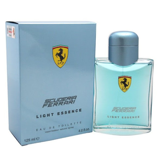 Perfume Ferrari Light Essence 125ml na Giovanna Imports