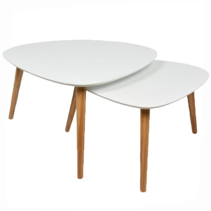 table et chaises de terrasse: table basse gigognes