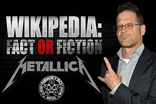Metallica Legend Jason Newsted Plays 'Wikipedia: Fact or Fiction?'