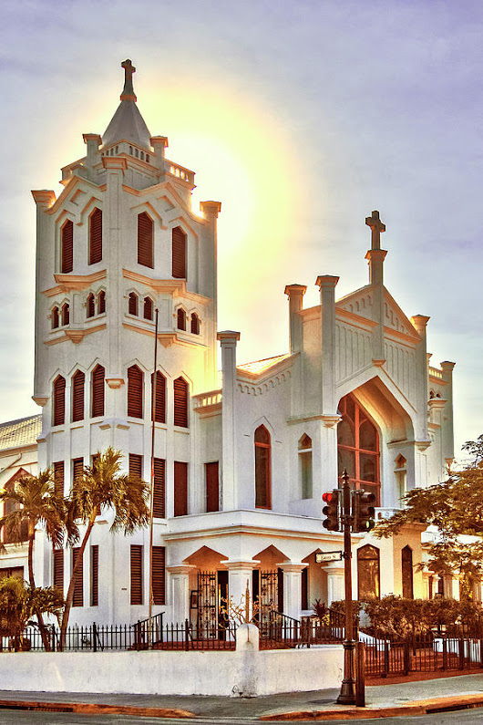 St. Paul's Episcopal Church - Key West by Bob Slitzan