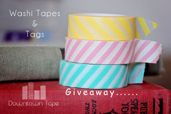 Giveaway: Washi Tapes & Tags