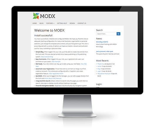 MODX Evolution 1.2—Critical Security Fixes, Major Improvements and Over 1200+ Commits
