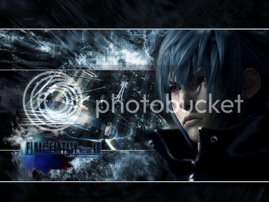 Final Fantasy Versus Xiii Wallpaper Beware Dial Up Users