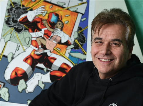 Canada needs 'our own heroes,' says Cambridge comic book artist