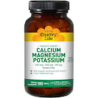 Country Life Target-Mins Calcium Magnesium Potassium Tablets - 180 count