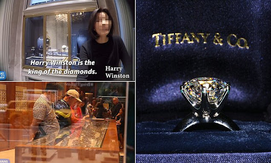 Jewelry expert's undercover to show Tiffany overcharges for diamonds