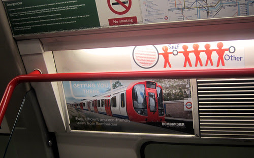 Ad for Bombardier Trains