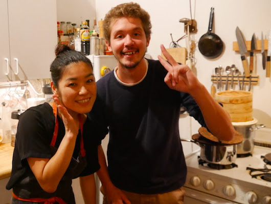 Eating With A Japanese Chef In Her Brooklyn Apartment