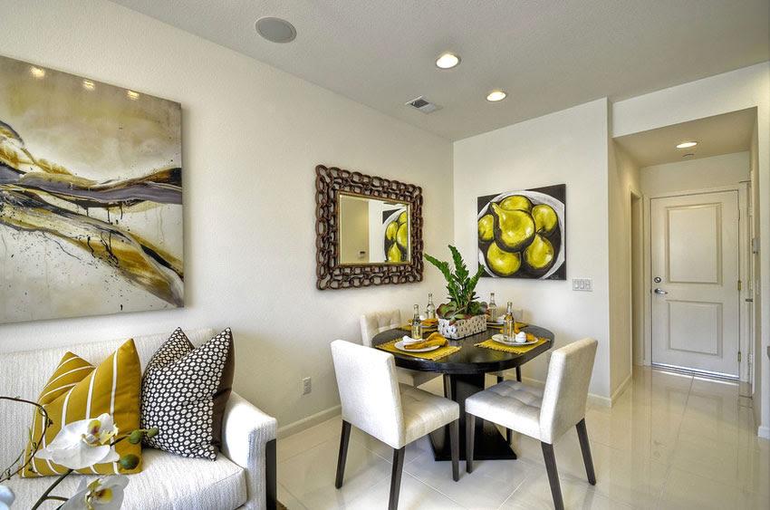 Sunny Interior Design Of House In Spain