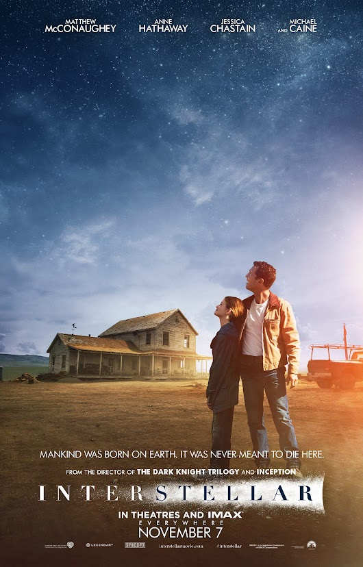 Friday's Movie: Interstellar.