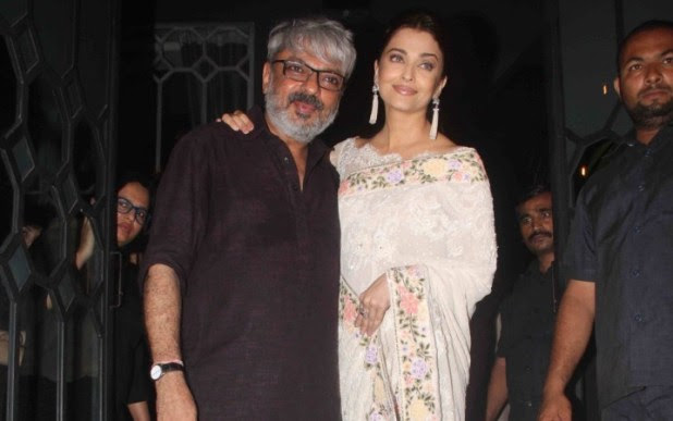 Image result for sanjay leela bhansali and Aishwarya