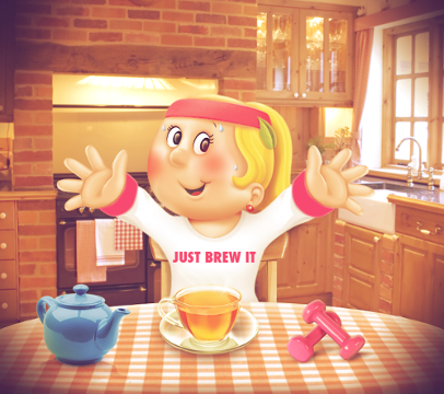 Win Tetley's Healthy January hamper