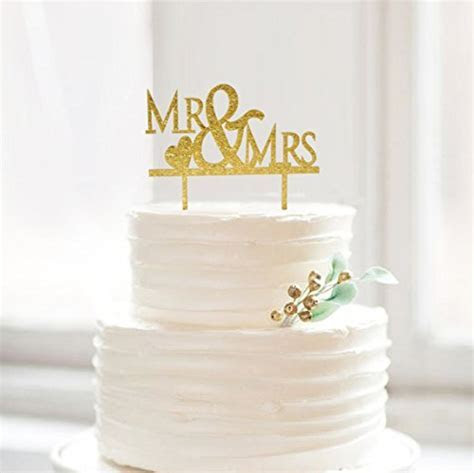 Aliexpress.com : Buy Bling Bling Gold Mr & Mrs Cake