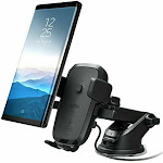 Iottie HLCRIO134 Easy One Touch Wireless Fast Charge Dashboard & Windshield Mount