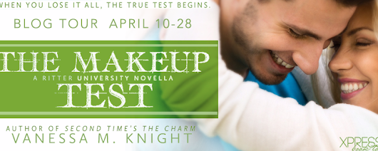 Book Tour & Review: The Makeup Test by Vanessa M. Knight