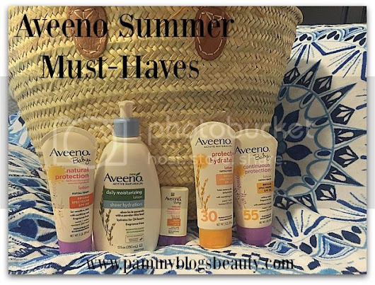Summer Day Pool Bag Essentials with Aveeno!