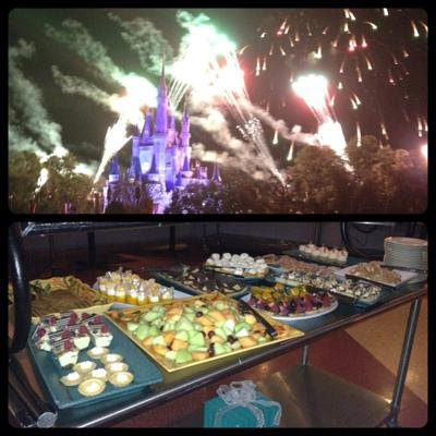 Live from the Tomorrowland Terrace Fireworks Dessert Party