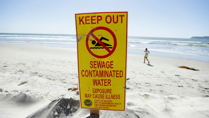 Image result for Mexican sewage routinely fouling San Diego beaches, ocean waters