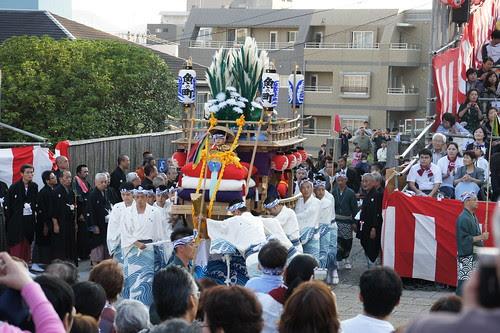 長崎くんち2012・魚の町・川船