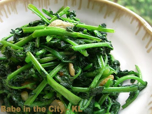Stir Fried Watercress