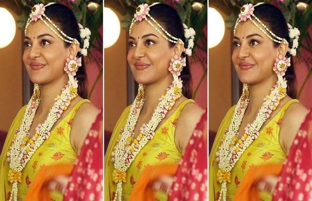 एक्ट्रेस Kajal Aggarwal की हल्दी सेरेमनी की खूबसूरत तस्वीरें आई सामने, पिया के रंग में रंगी हुई नज़र आईं एक्ट्रेस