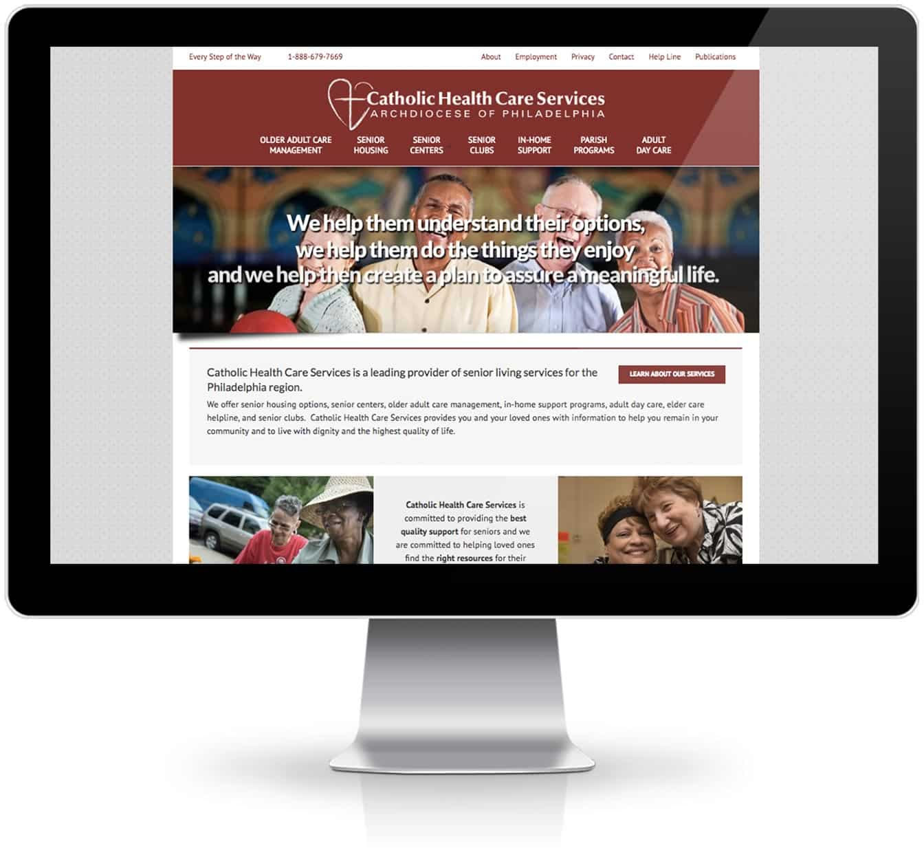 Catholic Health Care Services - Website - The Gillespie Group