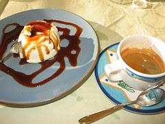 Panna Cotta et café