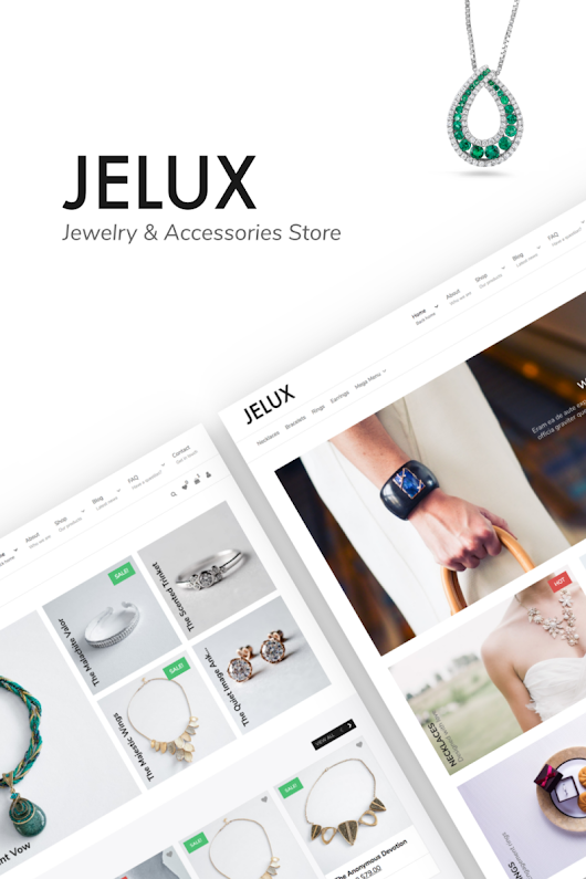 Jelux - Jewelry & Accessories Store WooCommerce Theme #67054