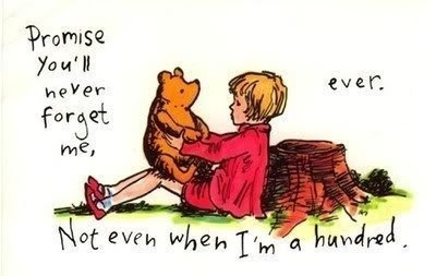 christopher robin, forget, love, pooh bear, winnie, winnie the pooh