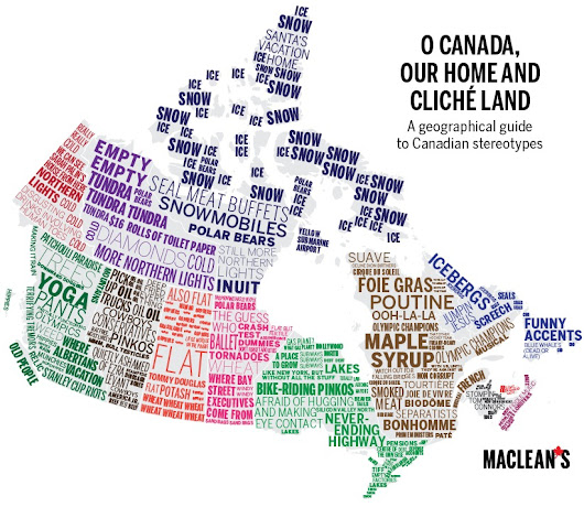 22 maps of Canada as you've never seen it before