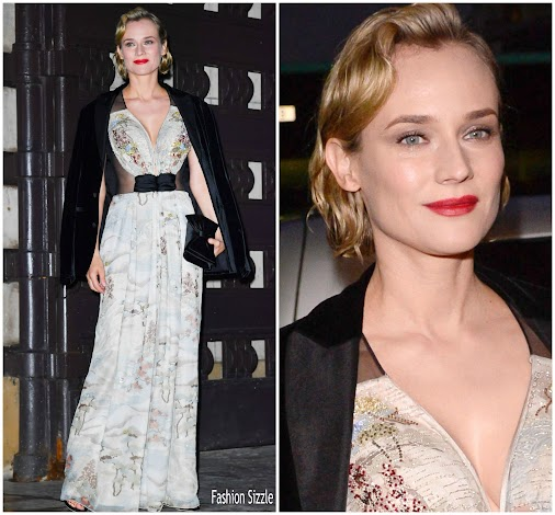 #dianekruger #armani #armani #fashion #redcarpet #fashion