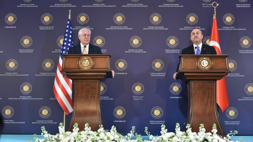 File Photo: U.S. Secretary of State Rex Tillerson participates in a joint press availability with Turkish Foreign Minister Mevlüt Çavusoğlu in Ankara, Turkey, on February 16, 2018. [State Department photo/ Public Domain]