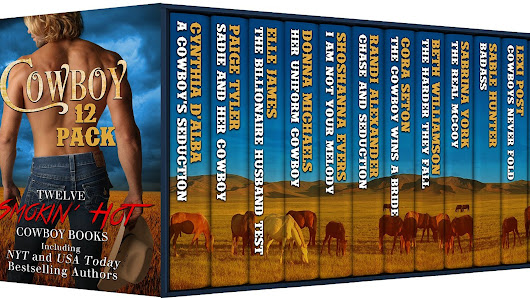 'Cowboy 12 Pack' authors react to hitting 'The Lists'