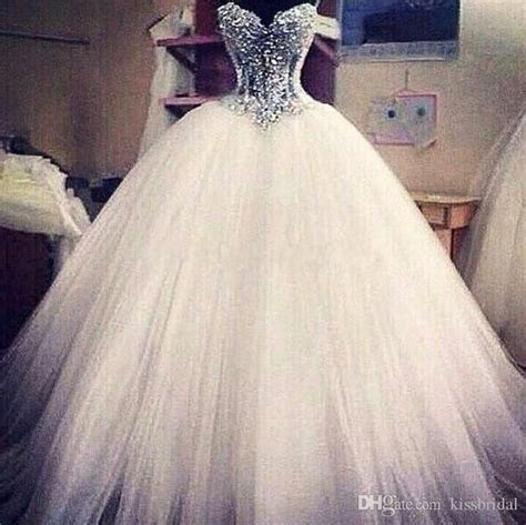 2018 Real Picture White Princess Ball Gown Wedding Dresses