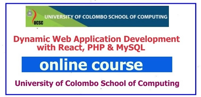 Training Course on Dynamic Web Application Development with React, PHP & MySQL-university of colombo