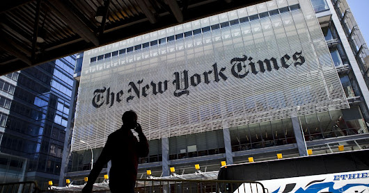 The New York Times website is down globally