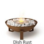 EcoSmart Fire Dish Rust