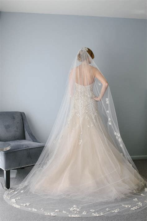 Cathedral length veil by Liancarlo. Gorgeous!   &?All