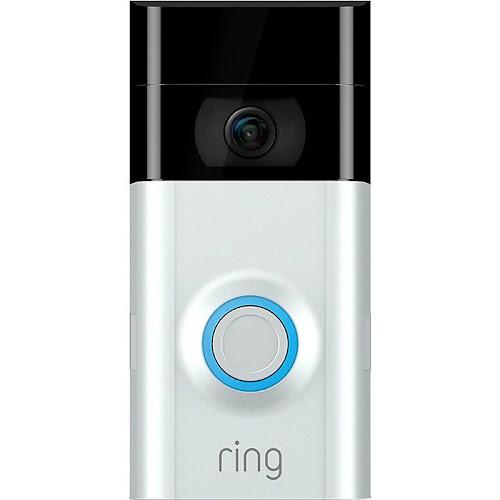 Ring Video Doorbell 2 Doorbell camera - Wireless - Android/iOS - Satin nickel