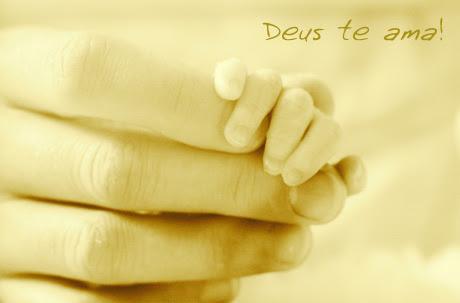Deus te ama!